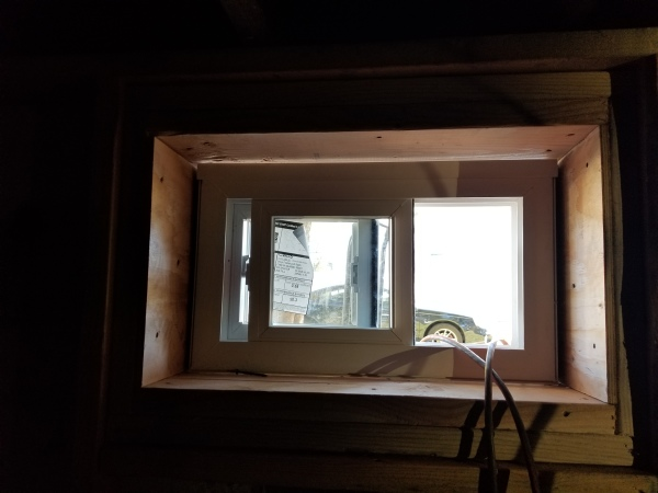 new basement window