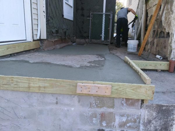 More concrete work