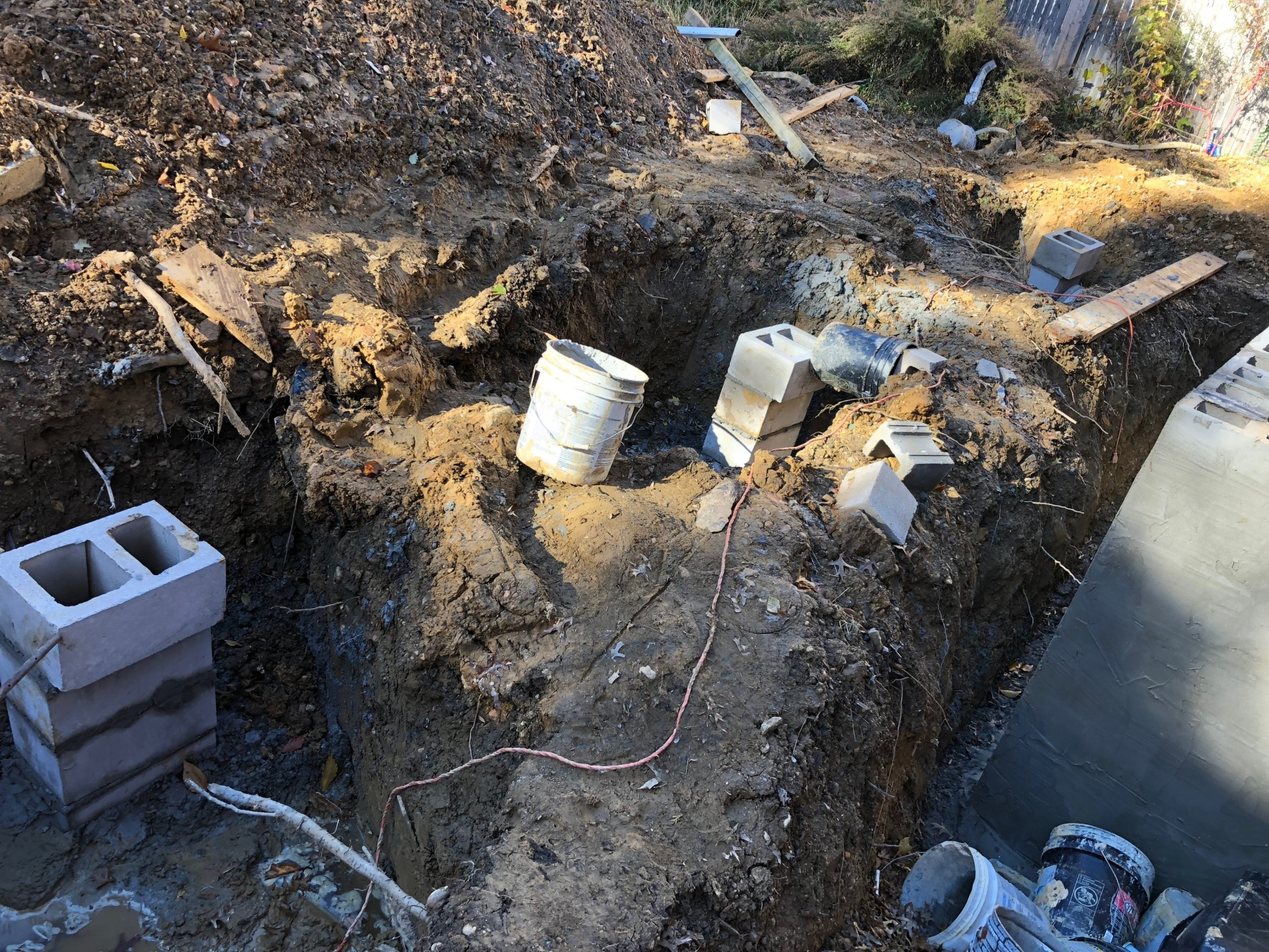 Footings are the next step