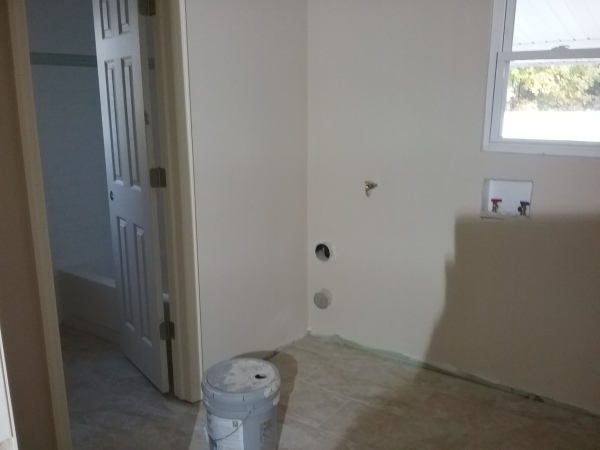 sheetrock and paint finishing